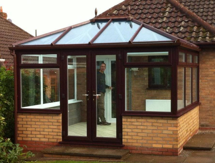 Wood conservatory Coventry
